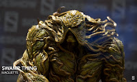 SDCC 2018 Sideshow DC Comics Swamp Thing Maquette 001