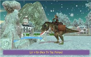 Game Extreme Dino Rex Snow Cargo App