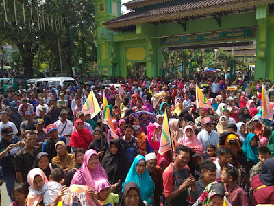 ANSU Aksi Damai Dukung Jokowi-Ma'ruf