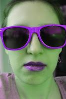 Grün-Lila