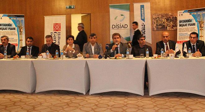 Diyarbakır'da 15-18 Mart'ta Ortadoğu İnşaat Fuarı açılacak