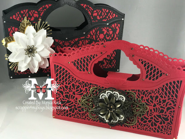 Die Feature Series - Tonic Studios - New Decorative Handbag Dies