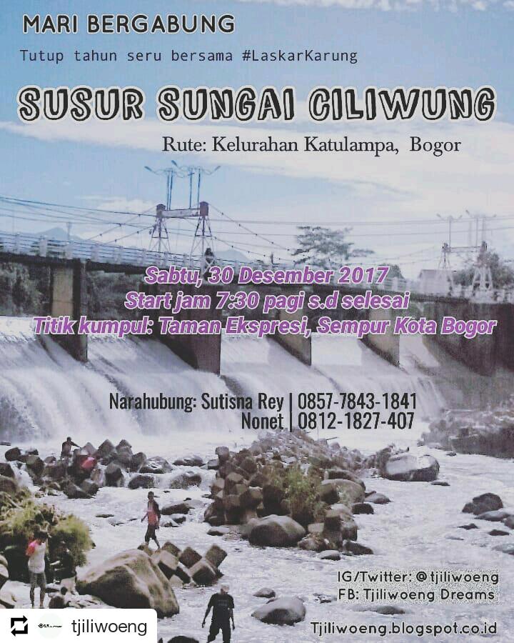 Mari Bergabung Susur Sungai Ciliwung