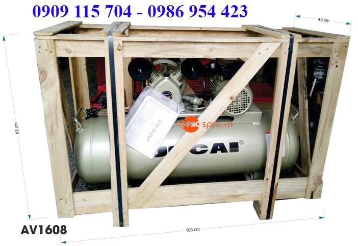 Máy nén khí 2HP cho tiệm rửa xe, sửa chữa xe máy, xe tay ga