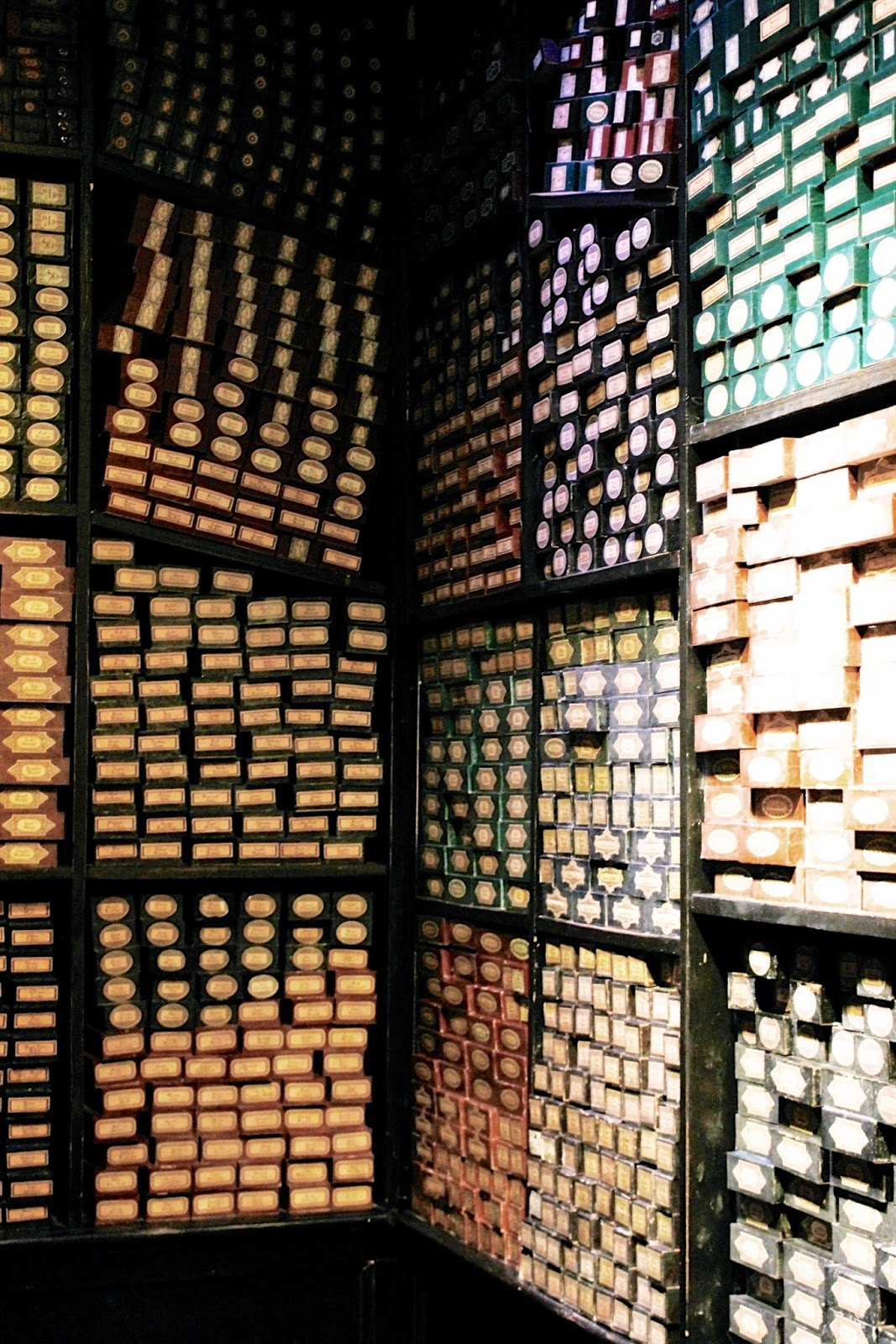 Harry Potter Studio Tour Wand Box Display