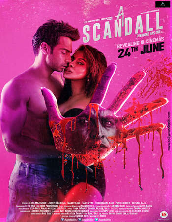 Poster Of A Scandall 2016 Hindi 450MB HDRip 720p HEVC Watch Online Free Download downloadhub.in
