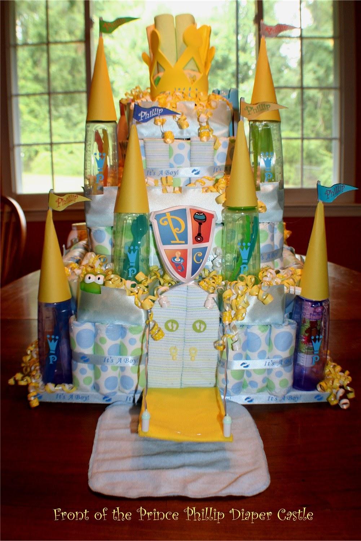 Donna Persico Diaper Cake Castle