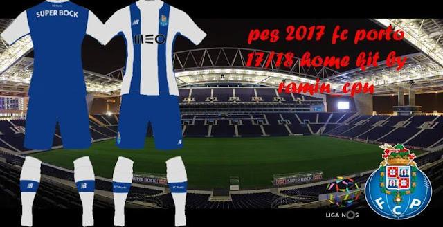 F.C. Porto 2017-18 Home Kit PES 2017