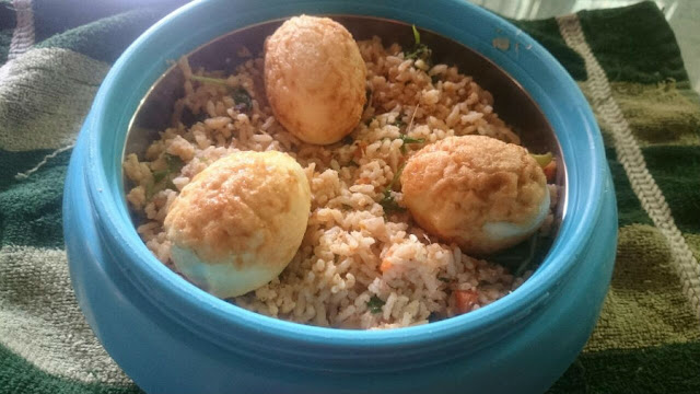 egg fried rice pulao