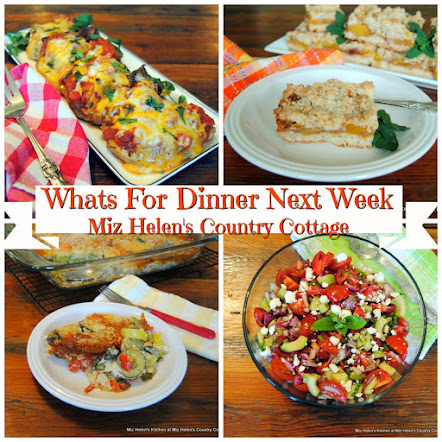 Whats For Dinner Next Week * Week of 8-19-18