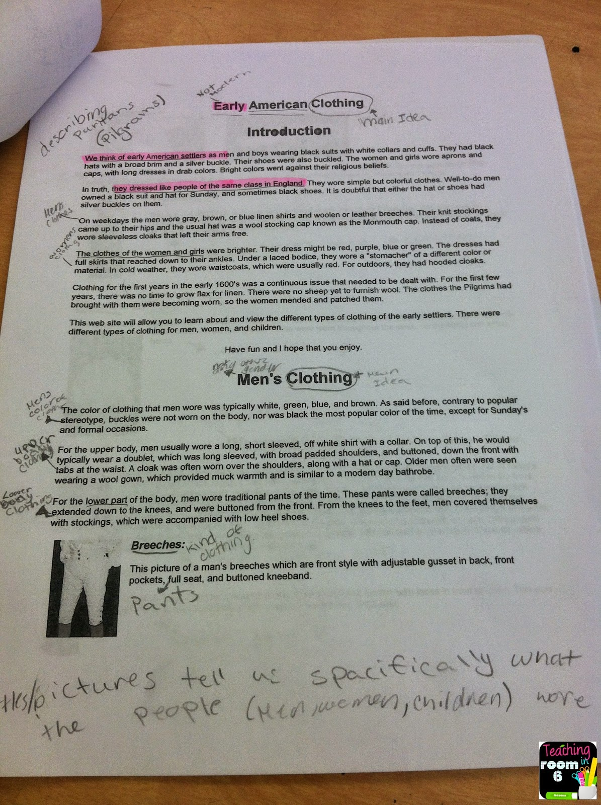 Main Idea of Expository Text {Reading and Writing} - Teaching in ...