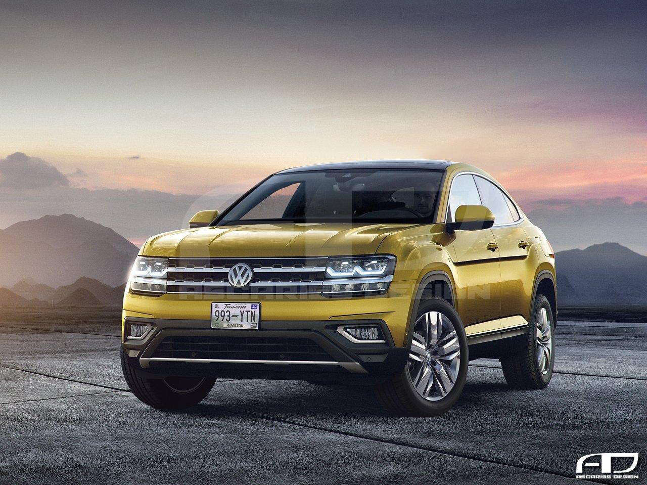 Volkswagen Atlas CC Front