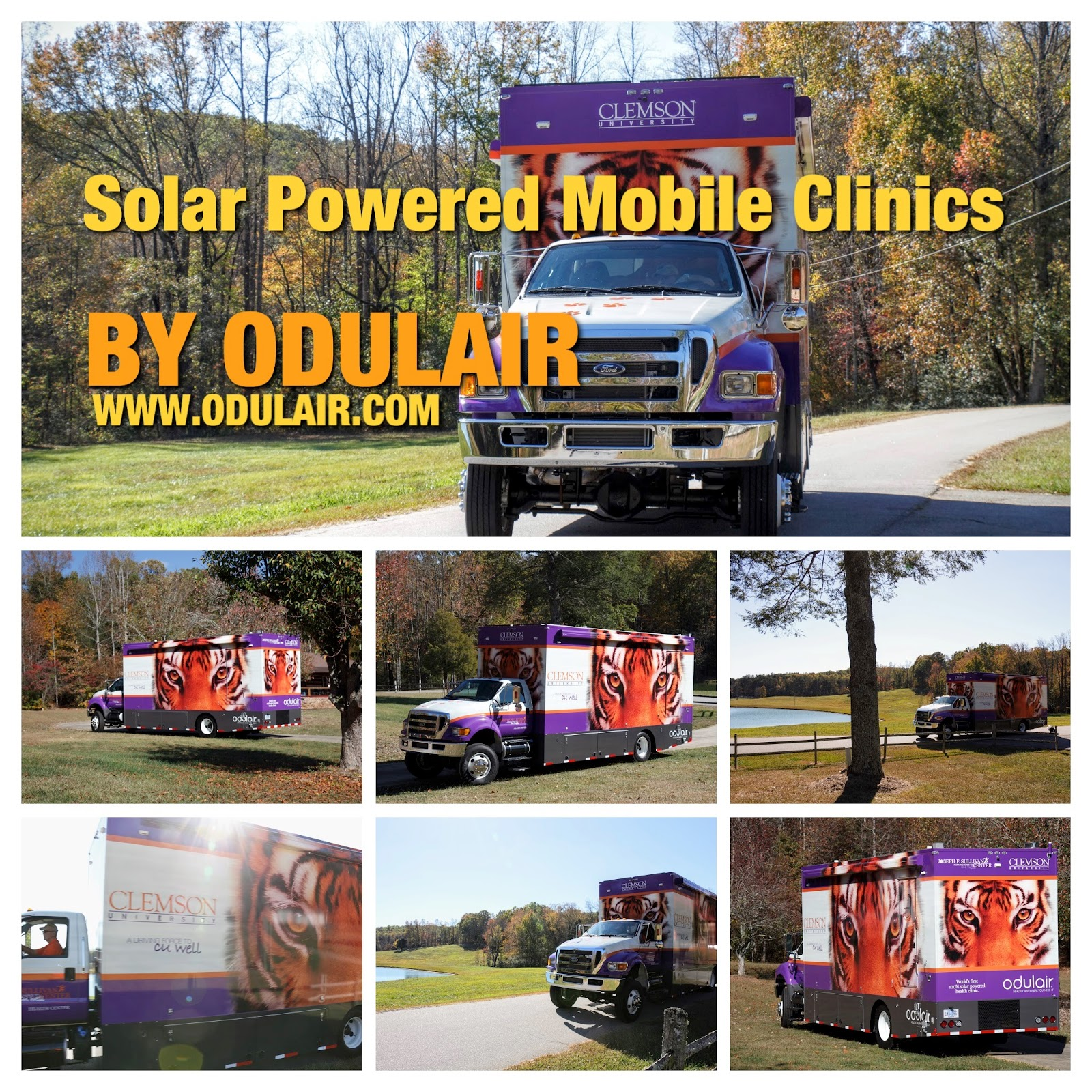 Mobile Clinics ODULAIR: Solar Powered Mobile Clinics for Sale