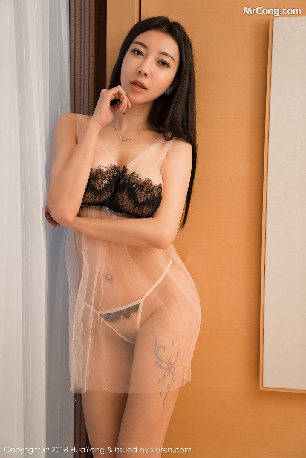 Image HuaYang-2018-01-26-Vol.028-Victoria-Guo-Er-MrCong.com-008 in post HuaYang 2018-01-26 Vol.028: Người mẫu Victoria (果儿) (41 ảnh)