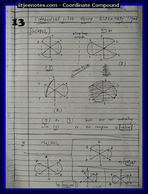 Co-Ordinate Compound CHEMISTRY3