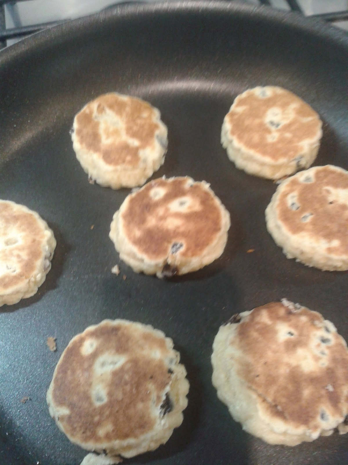 Welsh cakes recipe - the finished cakes