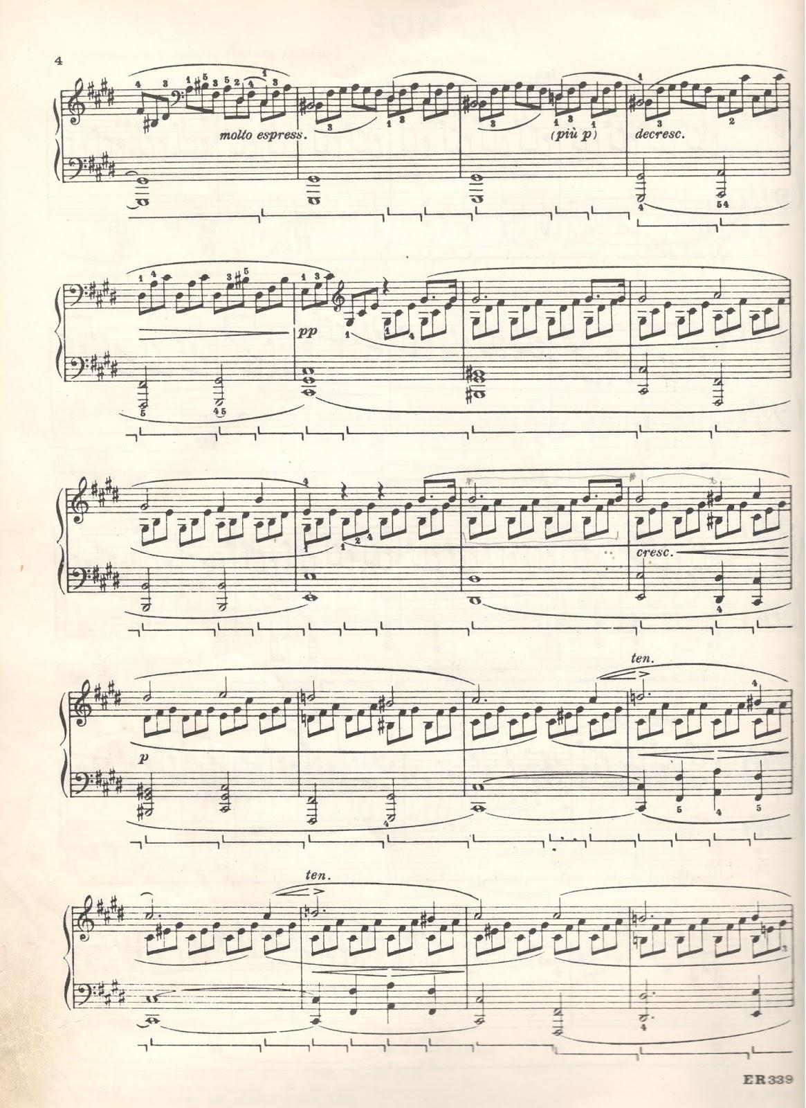 Claro De Luna De Beethoven Analisis