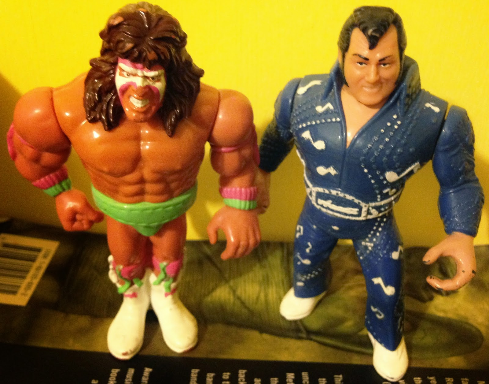 WWF Hasbro Figures - Ultimate Warrior vs. The Honky Tonk Man - Summerslam 1988