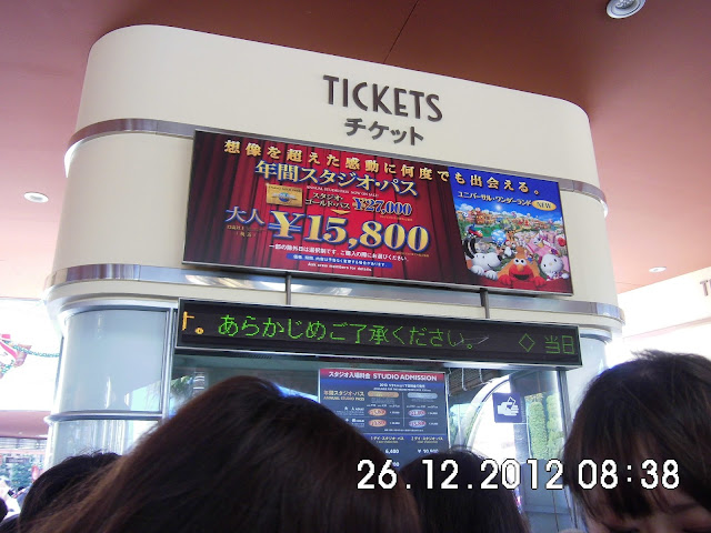 USJ Ticket Price