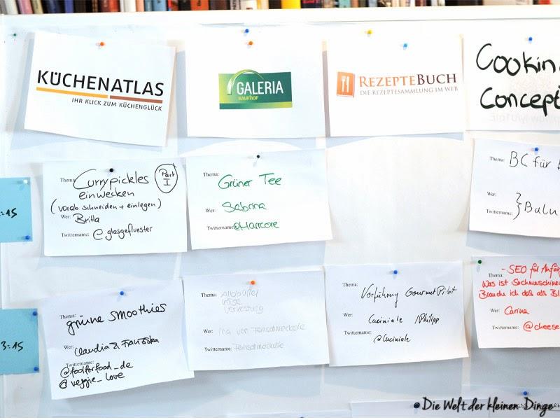 die welt der kleinen dinge r ckblick auf das 1 foodblogger barcamp in reutlingen. Black Bedroom Furniture Sets. Home Design Ideas