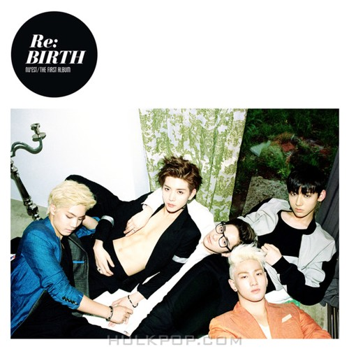 "NU'EST – NU'EST The First Album ""Re:BIRTH"" (FLAC + ITUNES PLUS AAC M4A)"