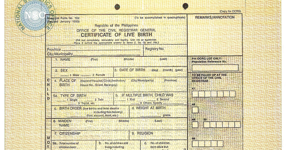 Superior NSO Delivery: How To Get Your NSO Birth Certificate, Fast And Easy |  Rockstarmomma