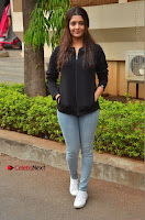 Actress Ritika Singh Stills at Guru Movie Success meet  0043.JPG