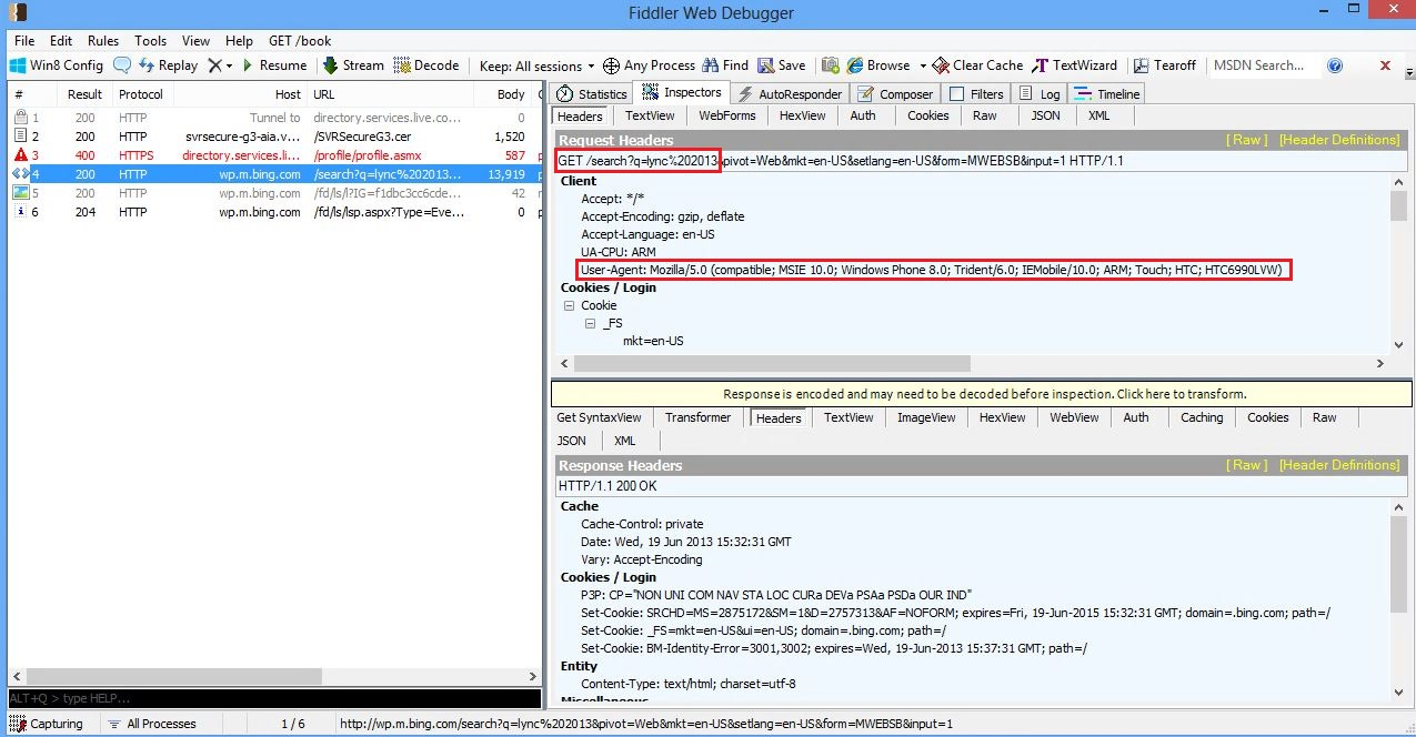 Unified Communications with Microsoft: Configure Fiddler for