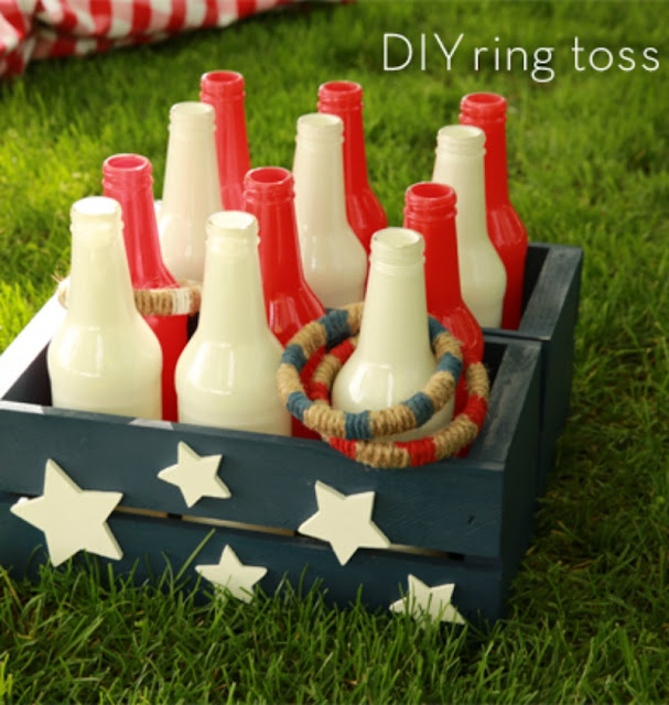 DIY Witch Ring Toss