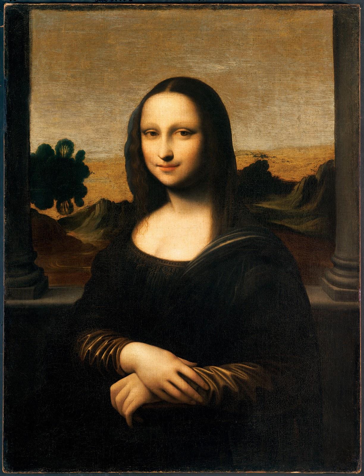 レオナルド・ダ・ヴィンチが描いたかも知れないアイルワースのモナリザ