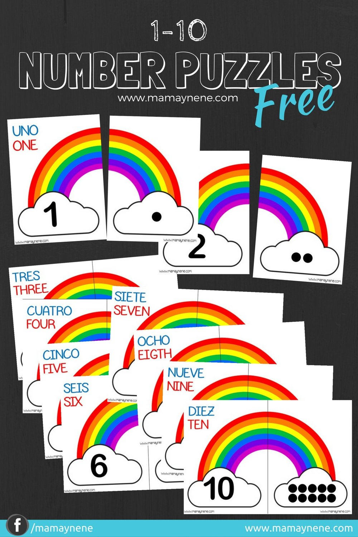 NUMBER-PUZZLES-ROMPECABEZAS-PREESCOLAR-INFANTIL-KINDER-MAMAYNENE-FREEBIES-IMPRIMIBLES