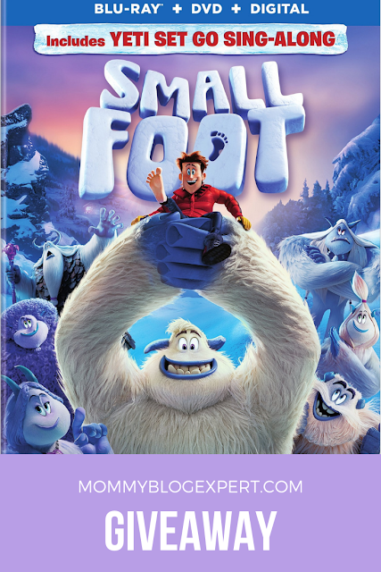 Smallfoot Movie Holiday Giveaway
