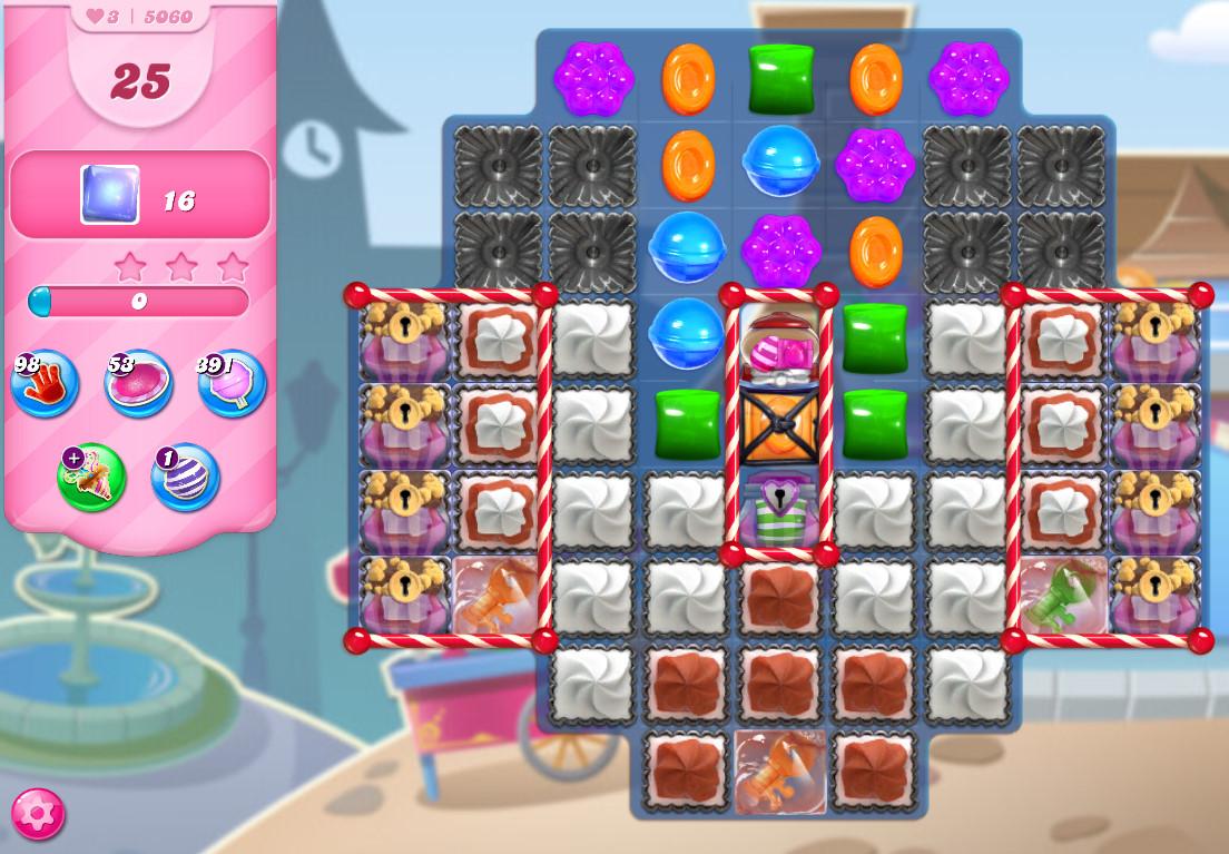 Candy Crush Saga level 5060