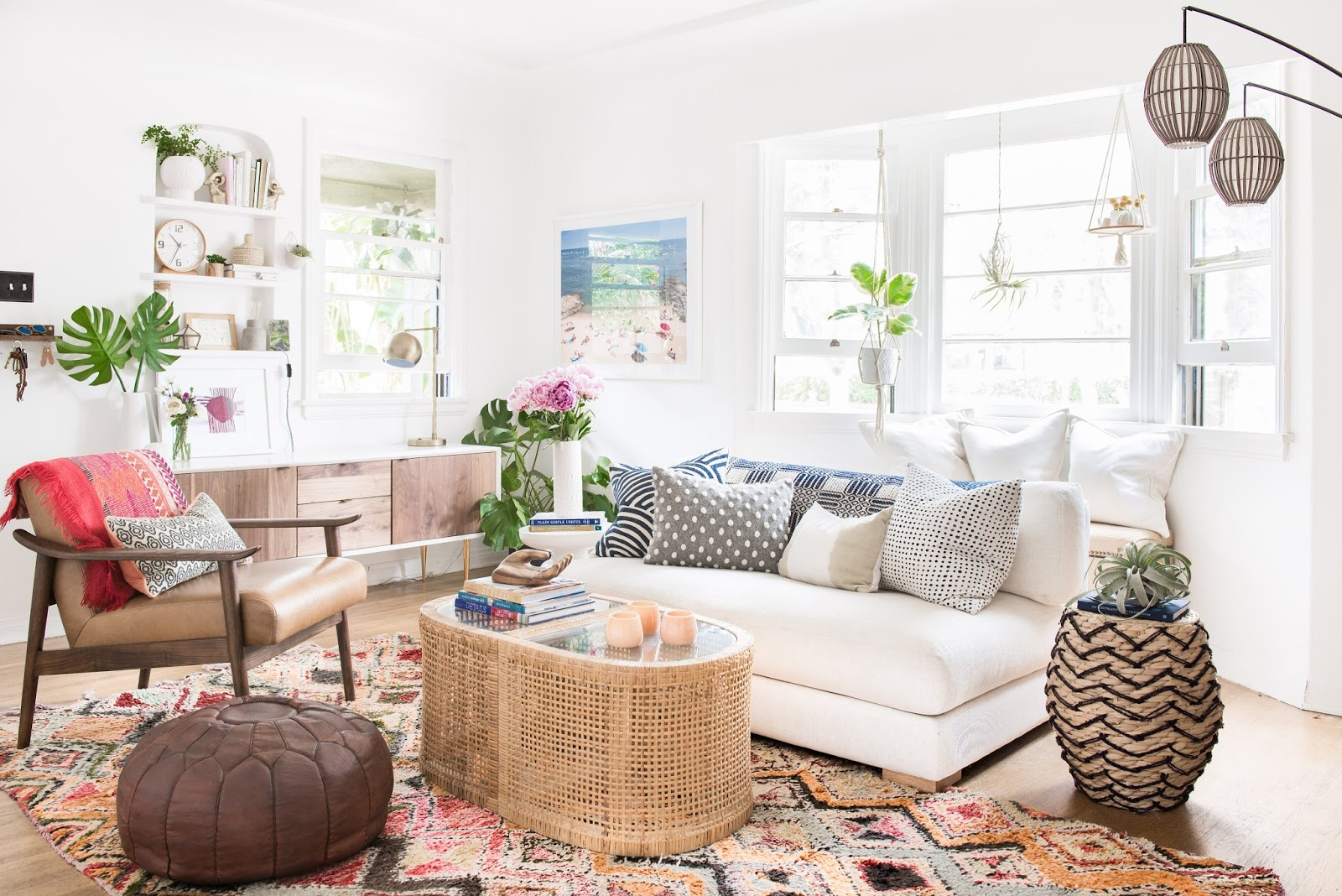 Boho Beach Bungalow: My LA Home Tour: The Boho Beach Bungalow