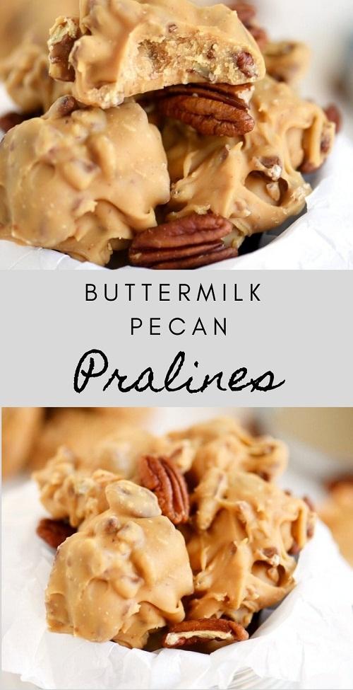Buttermilk Pecan Pralines