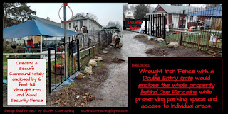 Welding Services Wrought Iron Safety Security Fence Project Scotts Contracting