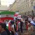 Judíos y no judíos protestan contra la visita del presidente de Irán a Austria (VIDEO)