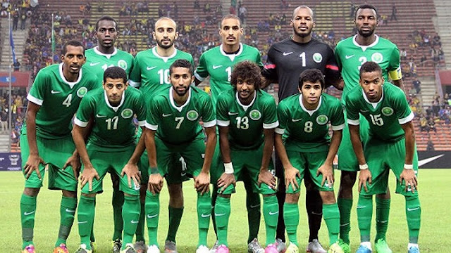 6. Saudi Arabia - nhất bảng A vòng loại thứ 2.