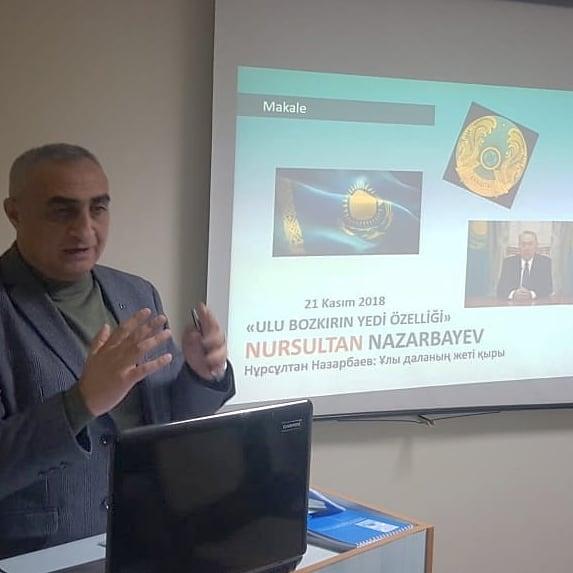 KAZAKİSTAN'IN BAĞIMSIZLIĞININ 27. YILINDA İZMİR'DE KONFERANS DÜZENLENDİ