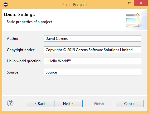 Cross development using eclipse and GCC for the RPi – COSOSO