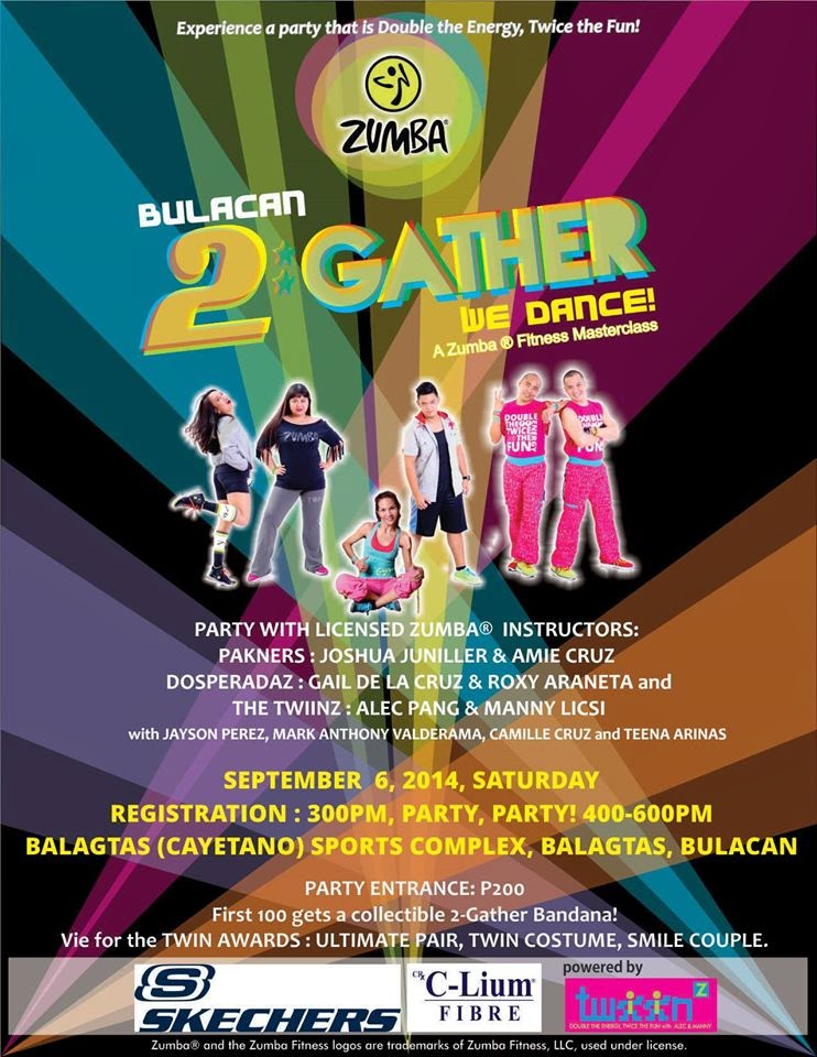 Where To Zumba: Bulacan 2*Gather We Dance