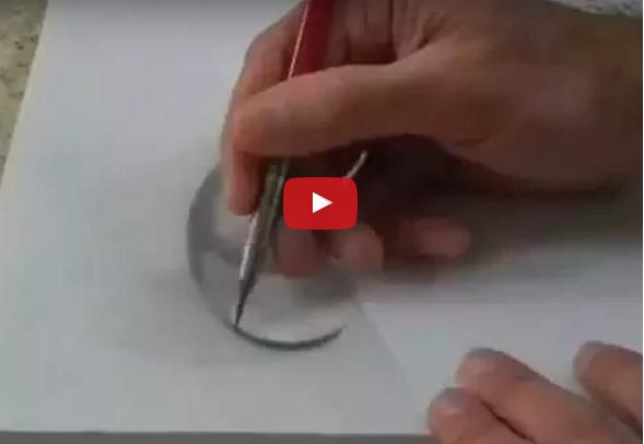 How to draw 3d ball with pencil step by step how to draw 3d ball step by step how to draw 3d ball with pencils