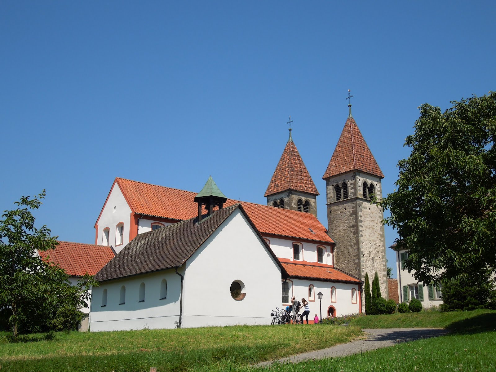 Pictures Of One Story Houses Monastic Island Of Reichenau Germany