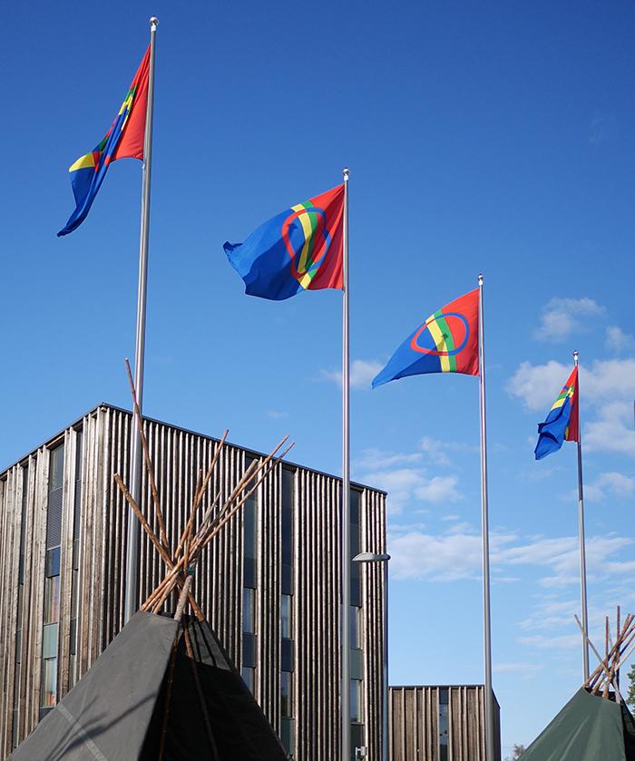Inari samen Flagge