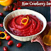 Raw Cranberry Sauce ~ So Easy! (vegan, sugar-free)