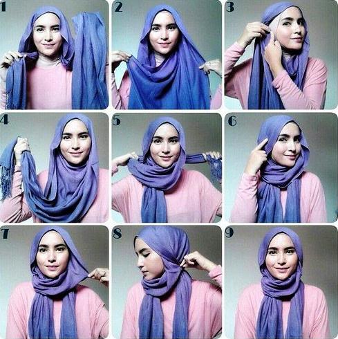 Cara Memakai Jilbab Pashmina Simple Modis Dan Mudah Terbaru 2016