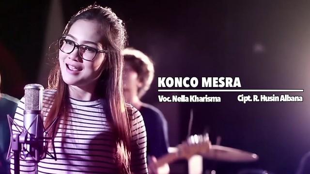 Lirik Lagu Konco Mesra - Nella Kharisma (TOP)