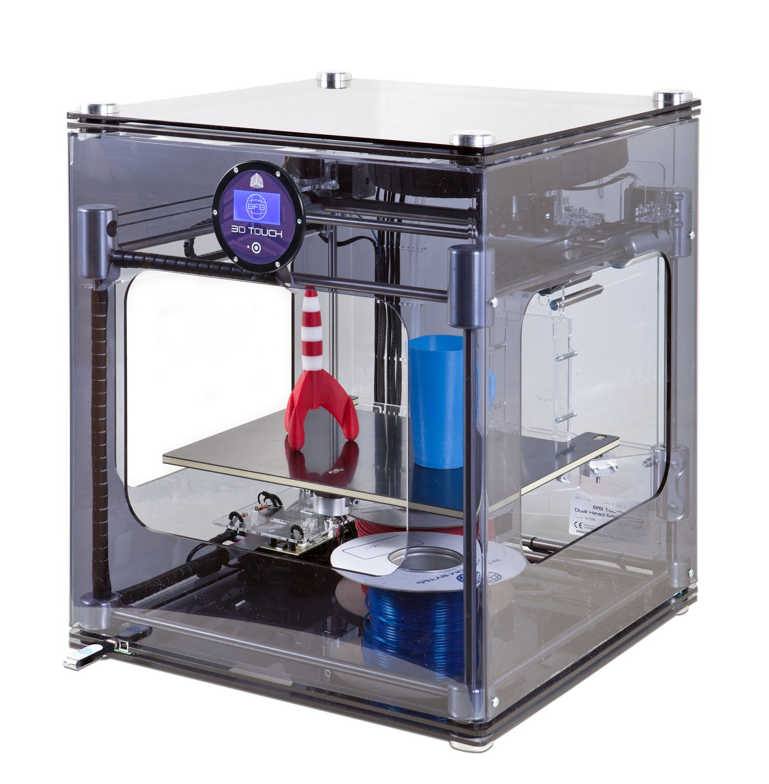"""Cubify's Discontinued 3D Printer """"3D Touch"""" [1569x1600"""