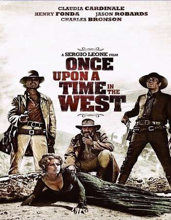 Poster Of Once Upon a Time in the West 1968 Dual Audio 720p BRRip [Hindi - English] ESubs Free Download Watch Online downloadhub.in