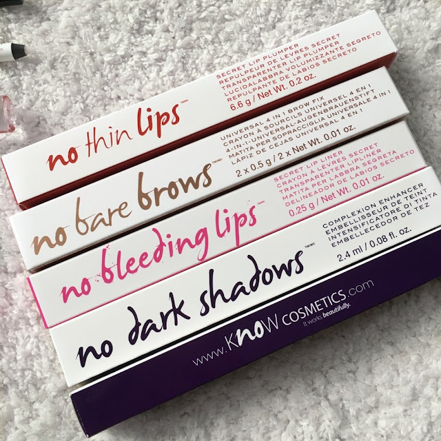 kNOw-Cosmetics-Testing-Review